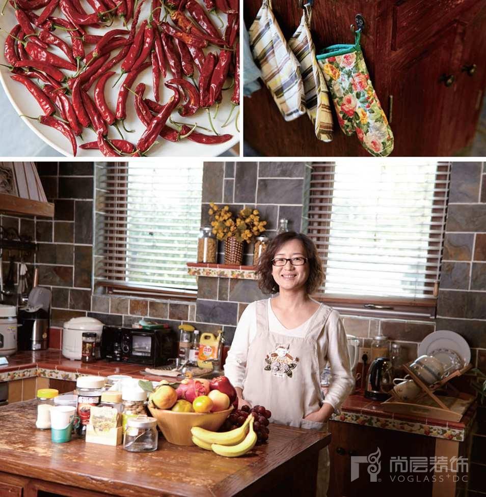 静之湖别墅装修女业主乐在厨房