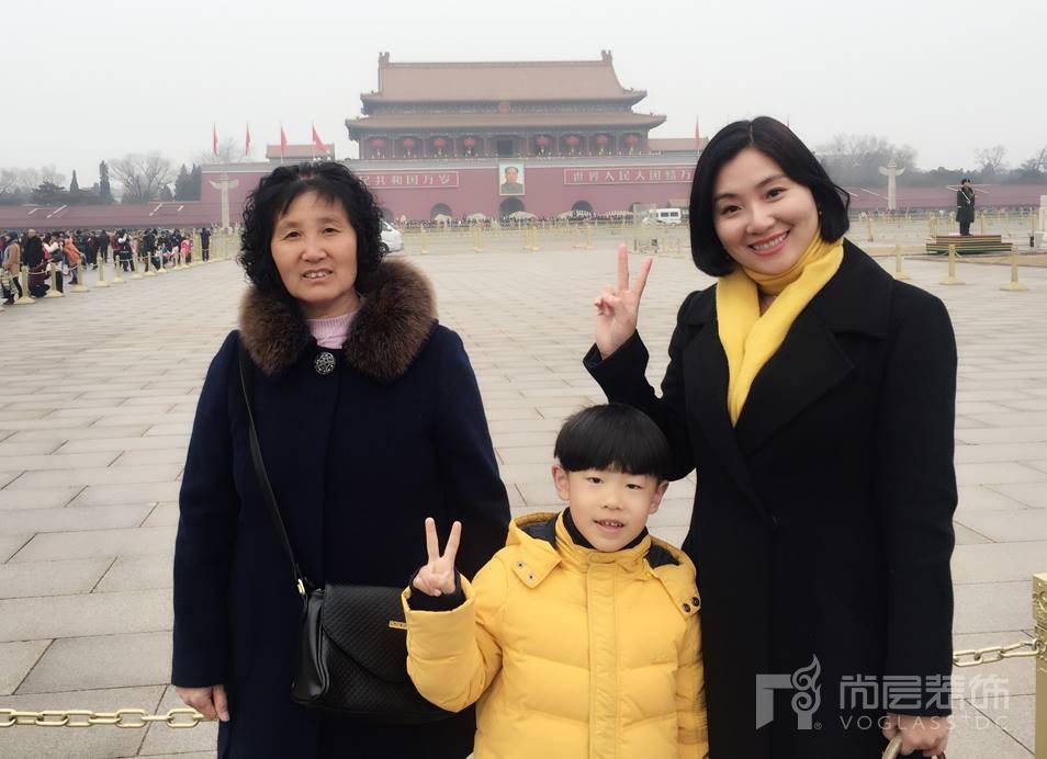 尚层装饰陶经理与她的母亲