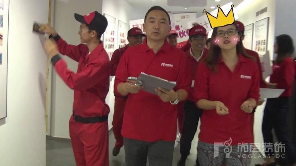 尚层装饰品管部经理刘春梅