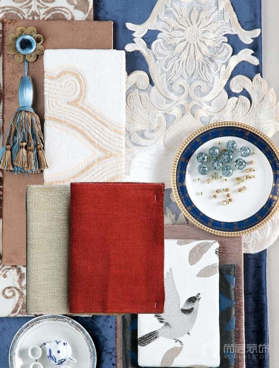 尚层别墅空间设计餐桌搭配