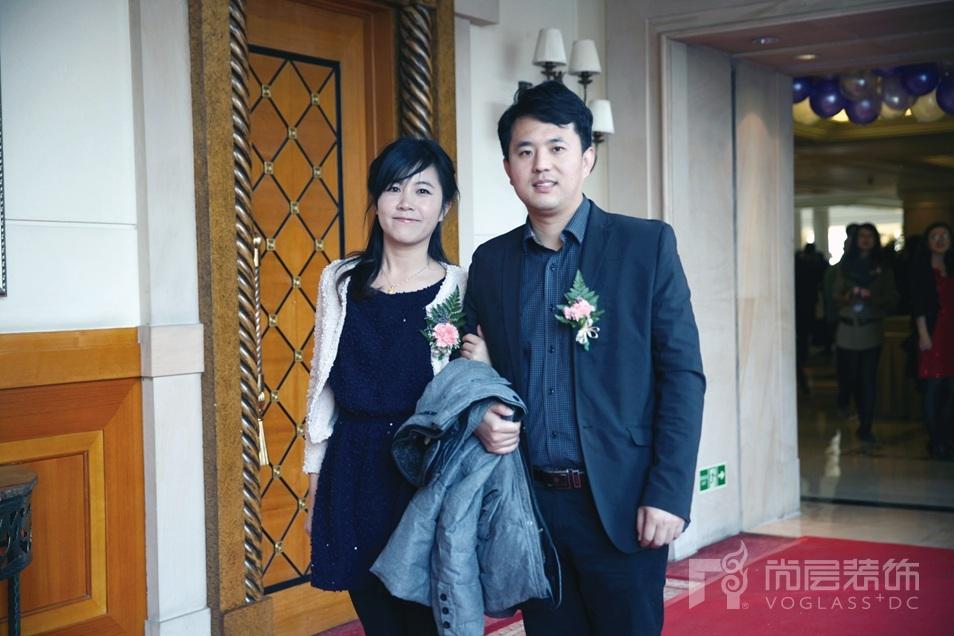 刘英凯和他的妻子