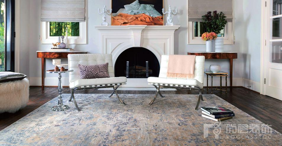 尚层装饰地毯与家具的搭配