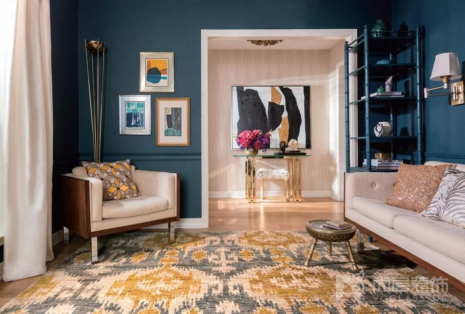 尚层装饰客厅适用的地毯