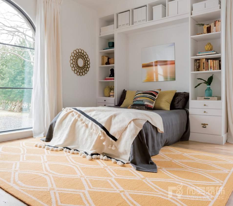 尚层装饰软装搭配卧室适用的地毯