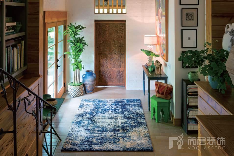 尚层装饰软装搭配地毯的日常维护