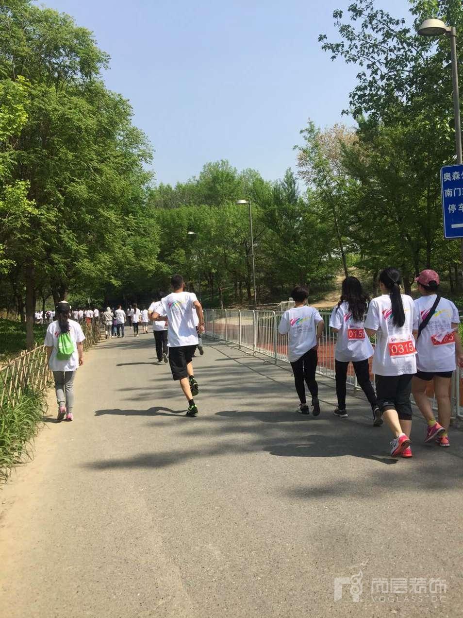 北京尚層裝飾千人路跑運動會