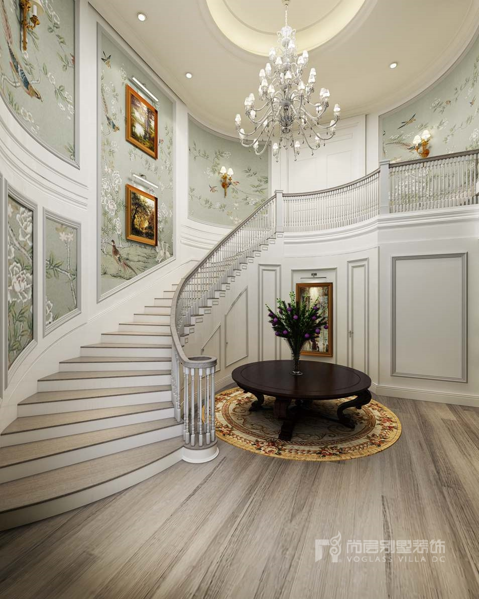 颐和原著别墅设计,简欧风格