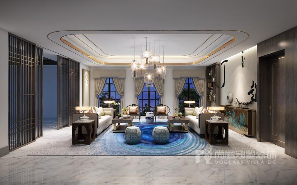远洋lavie混搭风格起居室装修图