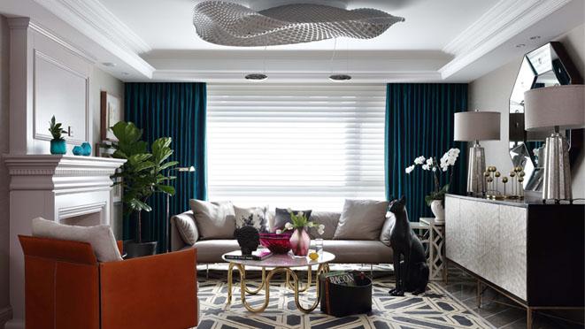 240平米轻奢风格别墅装修设计案例