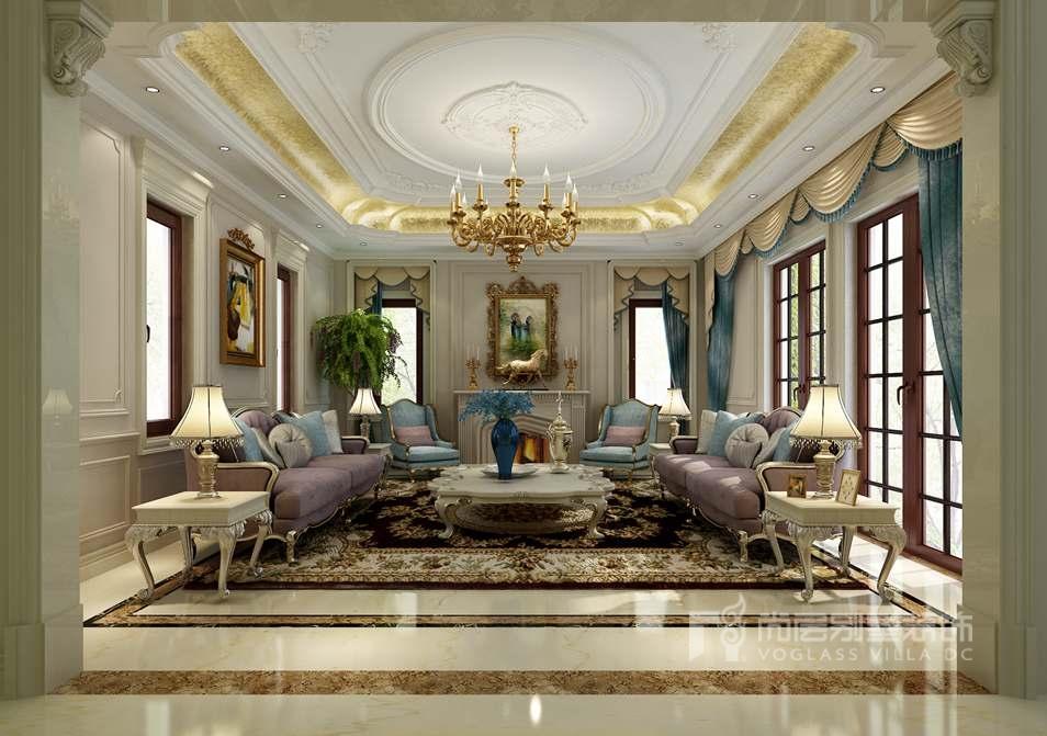 室内软装配饰-客厅效果图