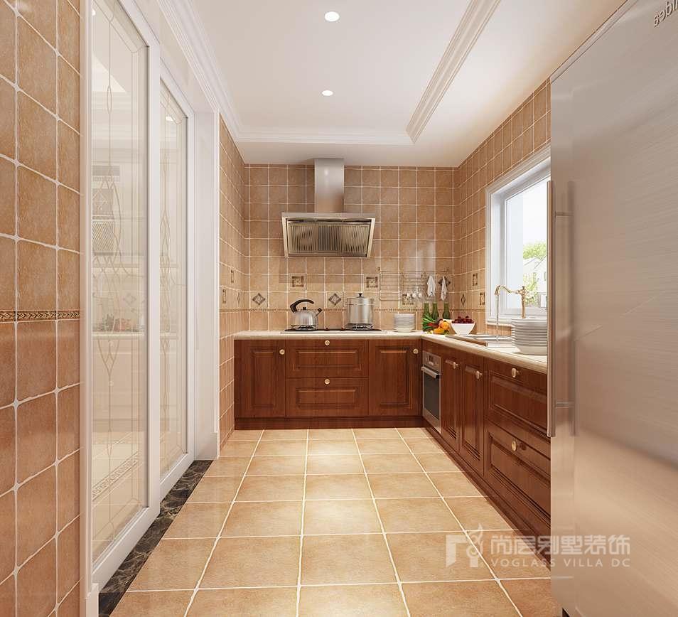 亚运新新家园别墅欧式中厨装修效果图