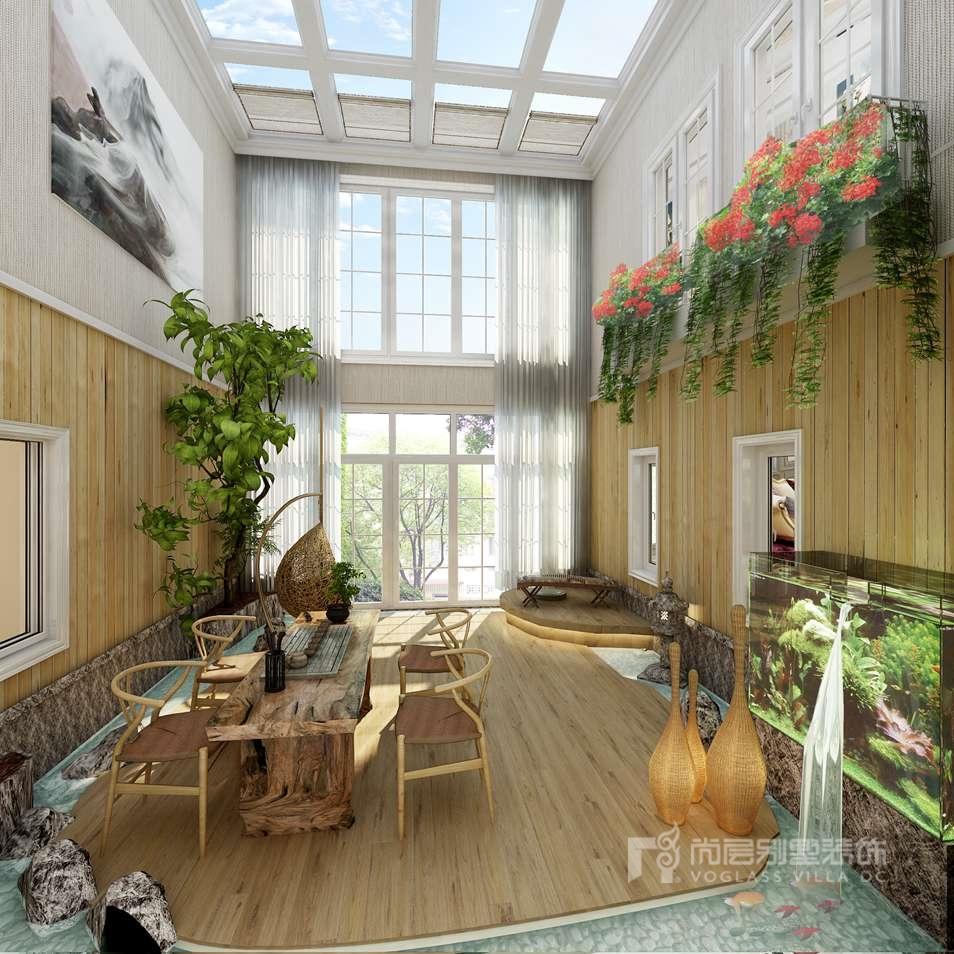 私家别墅花园设计别墅装修效果图
