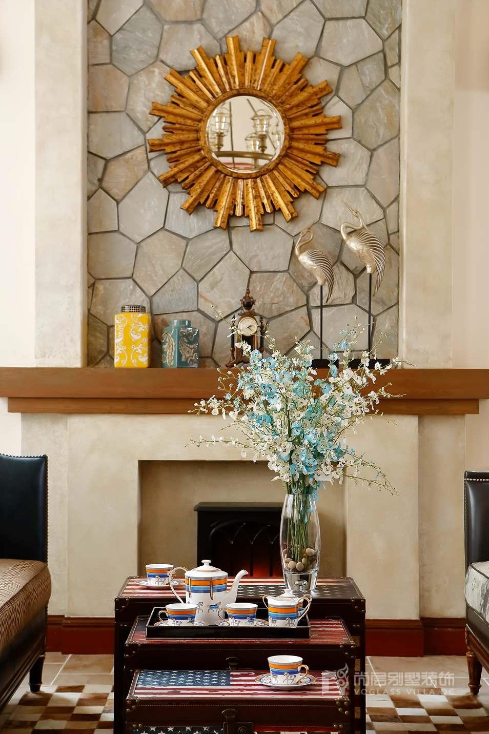尚层室内软装配饰-客厅实景图