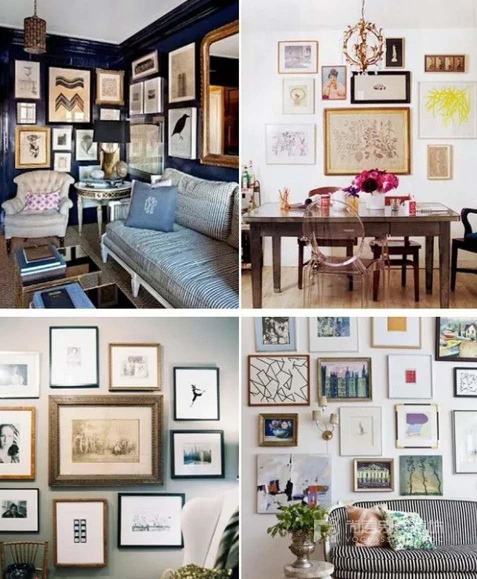 室内软装配饰-照片墙