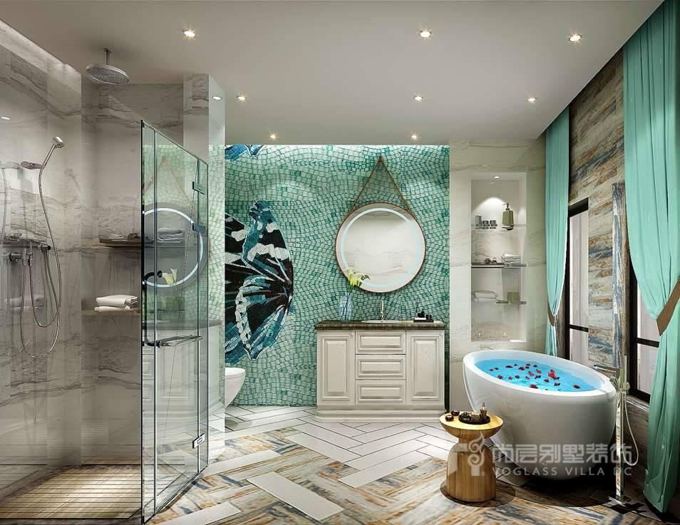 别墅卫生间的设计原则