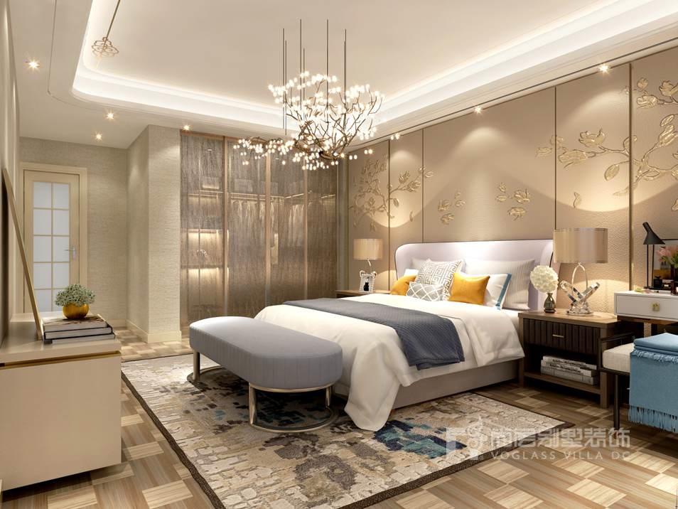 北京别墅装修设计案例,中国风与现代感混搭的创意美学