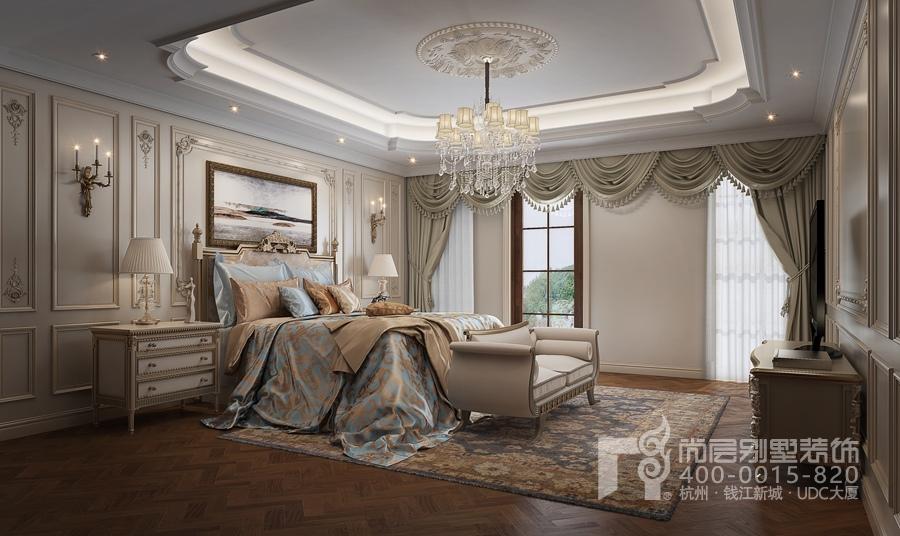 溪上玫瑰园欧式风格卧室装修效果图