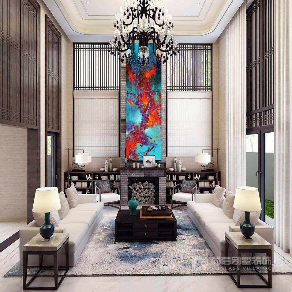 回归·出繁入静——碧水庄园新中式别墅设计案例