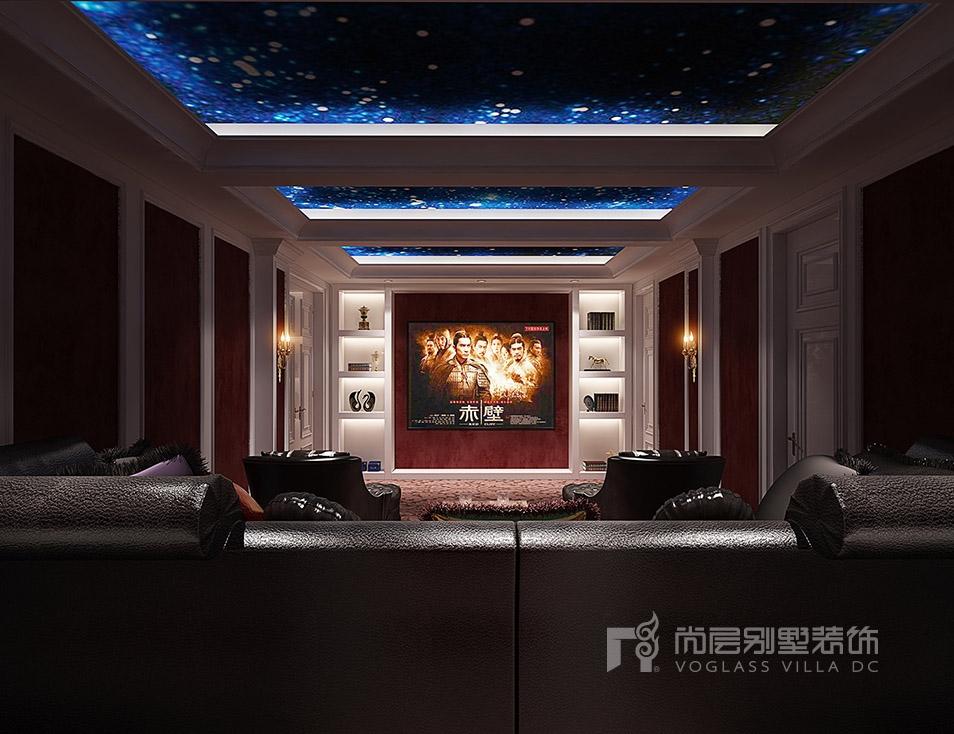 九龙仓国宾一号法式风格影音室装修效果图