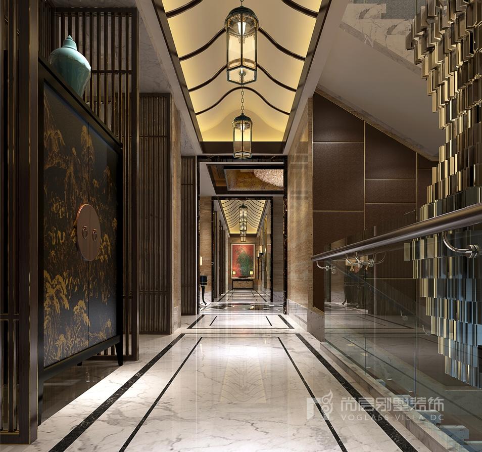 欧式过廊吊顶设计