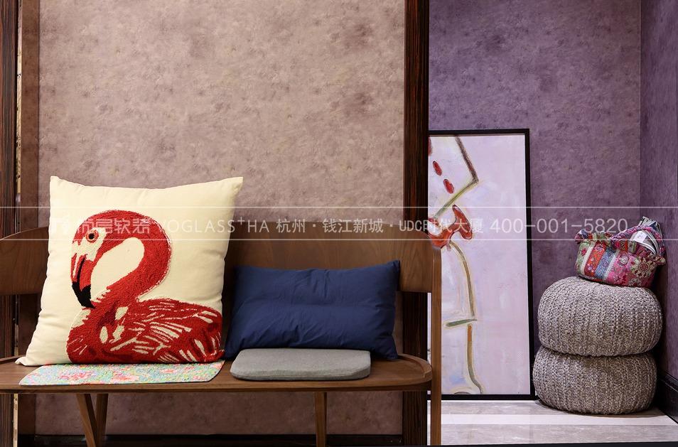 现代北欧风格软装案例-门厅实景图-尚层软装