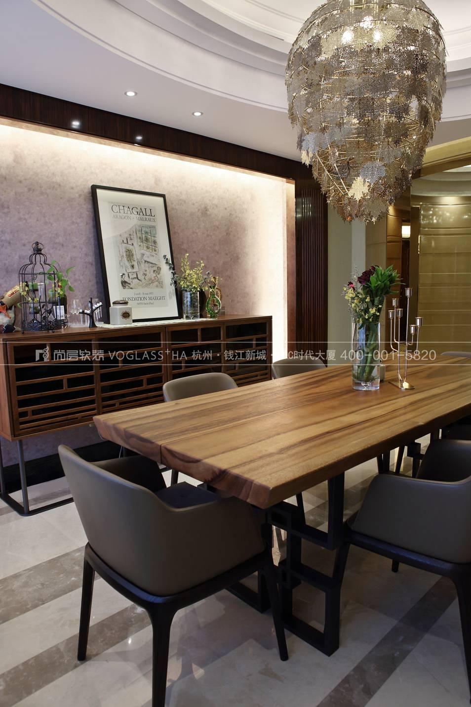 现代北欧风格软装案例-餐厅实景图-尚层软装
