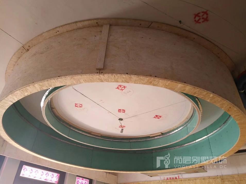 南京尚层装饰帝景天誉木工阶段