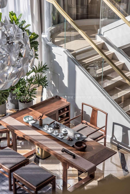 現代輕奢風格案例-茶室實景圖-尚層軟裝
