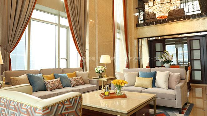 临平玉园丨美式软装风格实景图案例