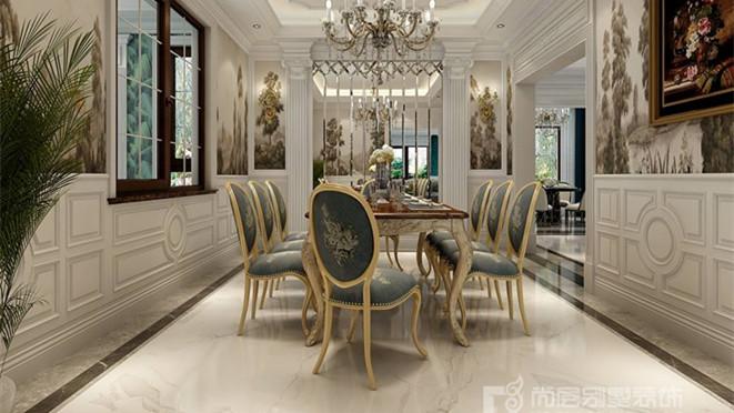 御汤山欧式风格客厅装修效果图