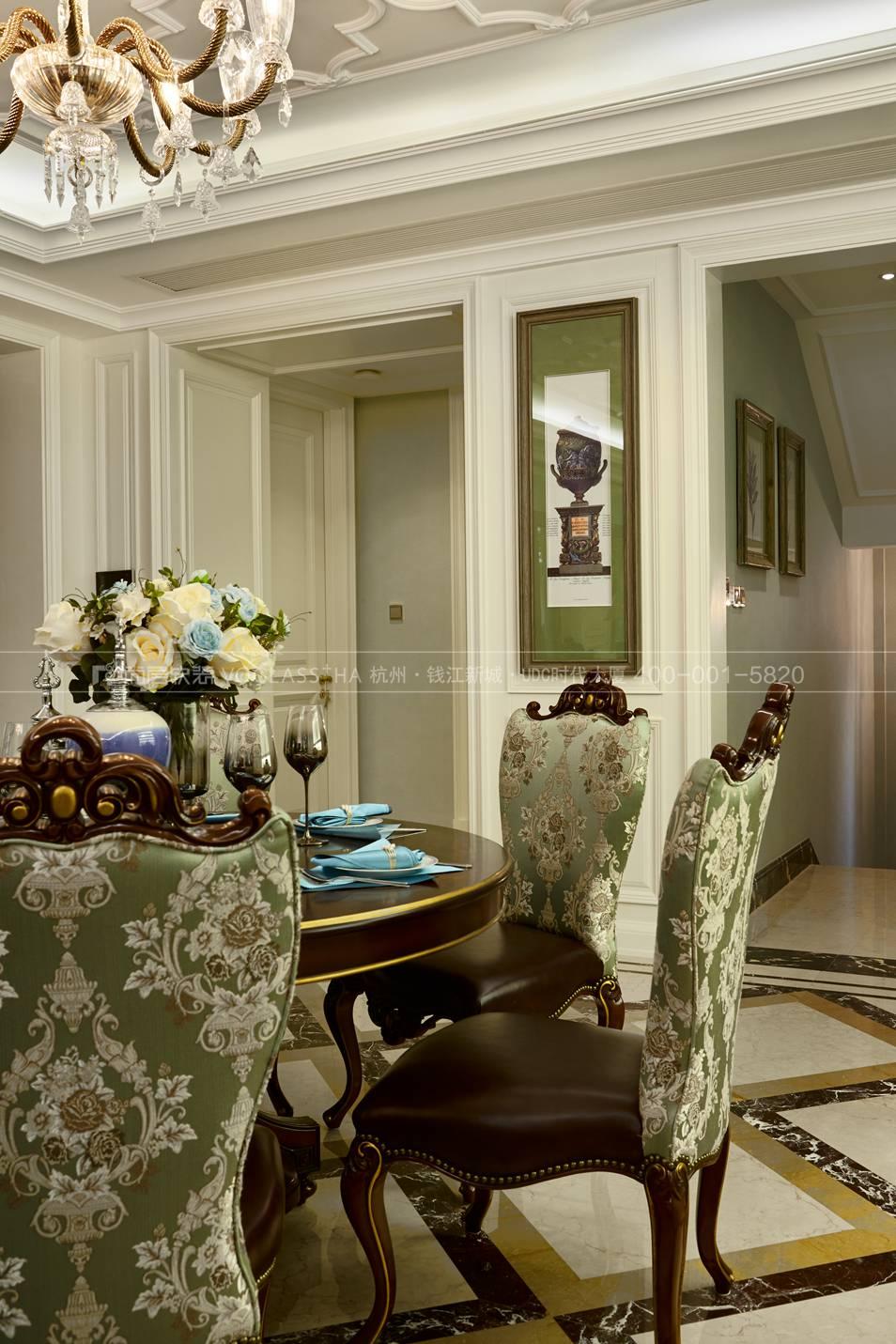 杭州尚层软装-欧式餐厅实景图