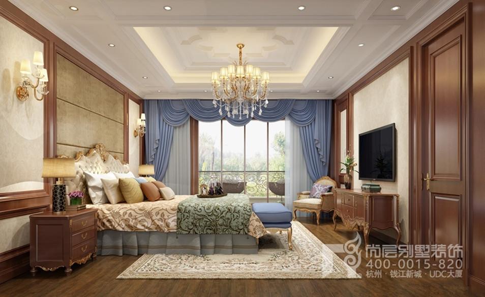 大华西溪风情新古典卧室装修效果图