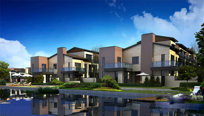 仁恒海和院别墅装修设计
