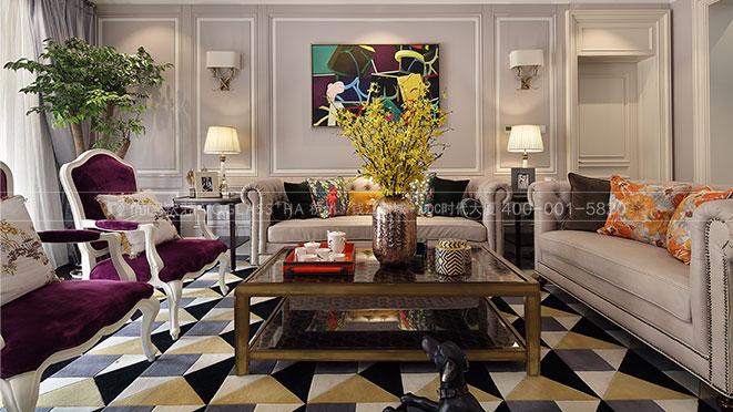 绿城桃花源丨色彩决定品味 Art Deco风格设计