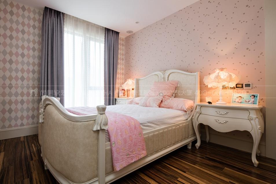 杭州软装公司,简欧风格软装设计方案,卧室软装设计实景图,杭州尚层软装