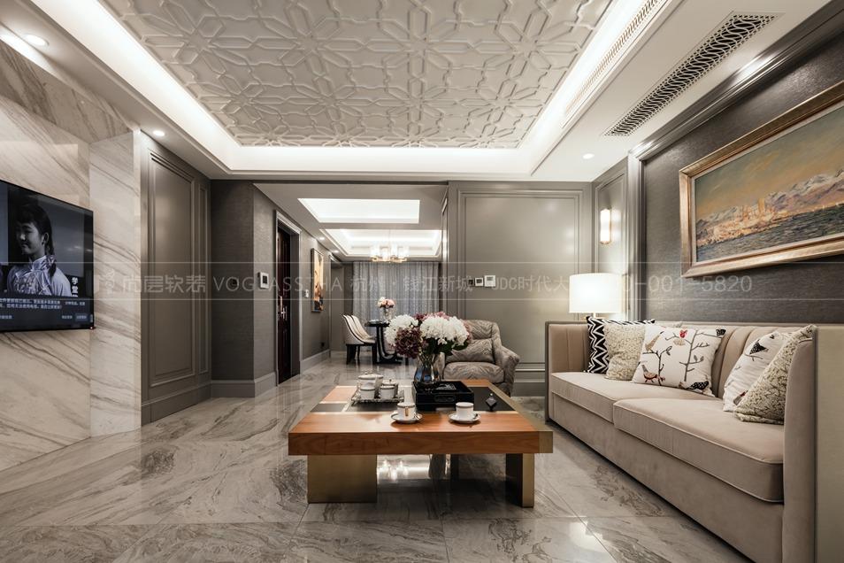 简欧风格软装设计方案,杭州软装公司