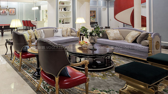 大华西溪澄宫丨拒绝拼凑的设计 美式新古典风格