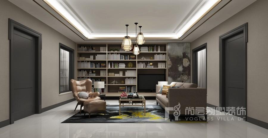 远洋天著现代简约风格起居室装修设计图