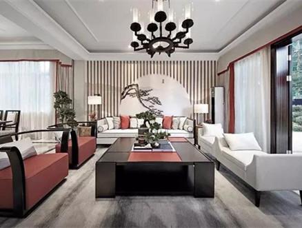 新中式别墅装修样板房