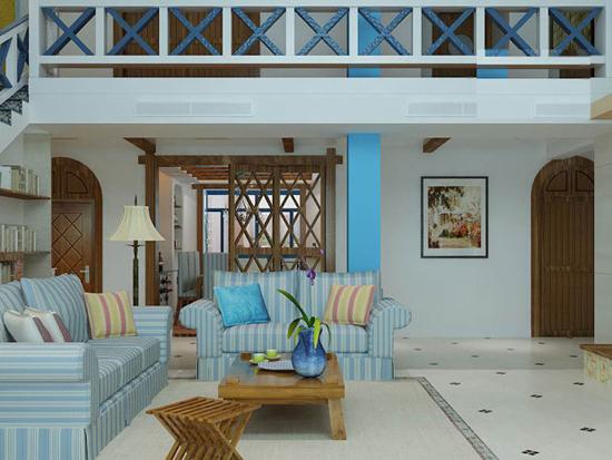 地中海风格别墅设计特点二:空间   用连续的拱门和马蹄形窗来表达空间的通透性,拱形门采光效果好,马蹄形窗起到很好的装饰效果,阳台或露台装饰成海边的栈桥和海景岩石令整个空间更加开放,树几根木桩,绕几道麻绳,令人心生惬意。   以上介绍的就是地中海风格别墅的设计特点,如想了解地中海风格别墅装修案例请关注深圳高端别墅装修设计深圳尚层装饰,或拨打400-898-7577电话咨询!