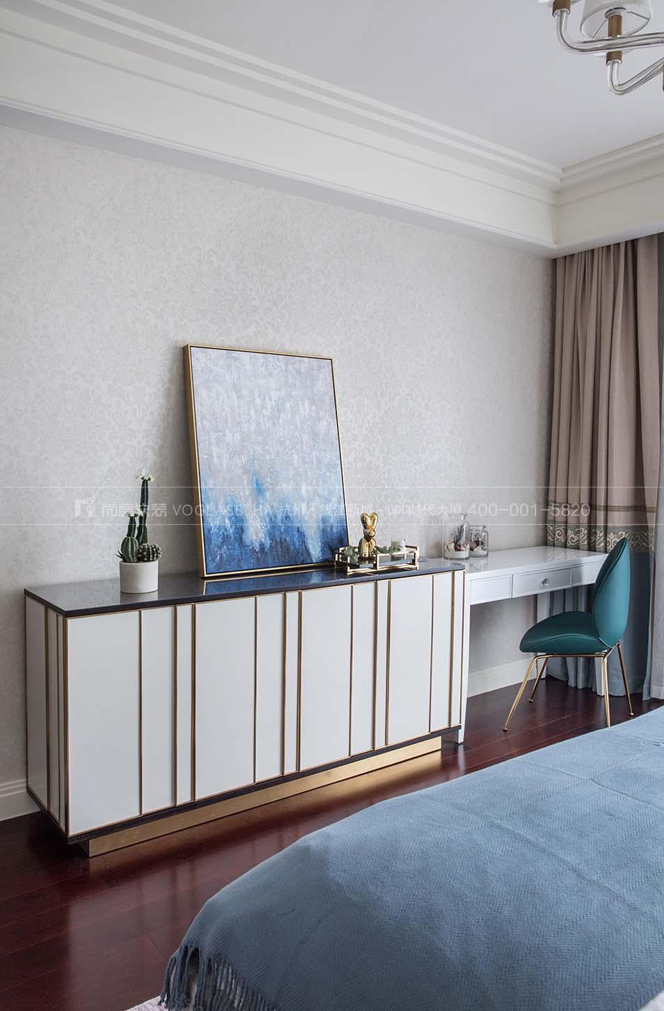 室内软装效果图展示-杭州尚层软装