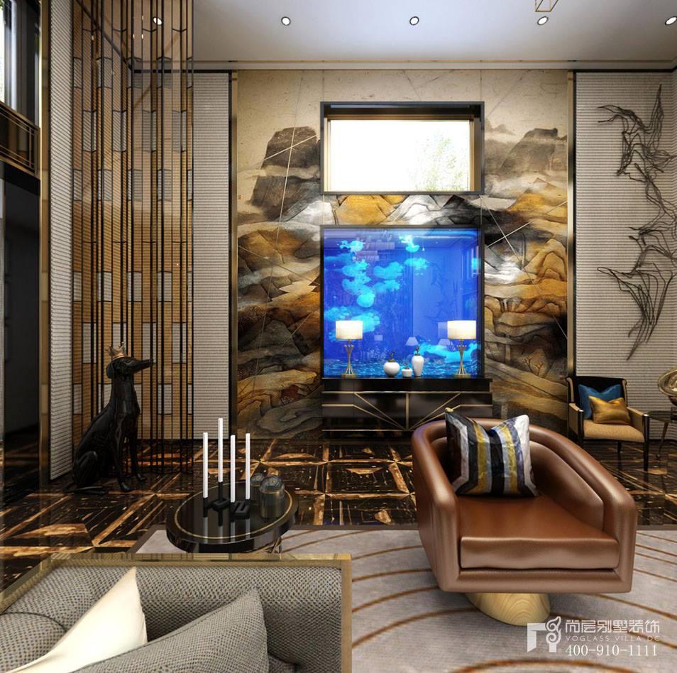 云栖玫瑰园新装饰主义风格客厅装修效果图