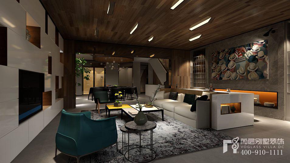 远洋天著现代简约风格客厅装修图