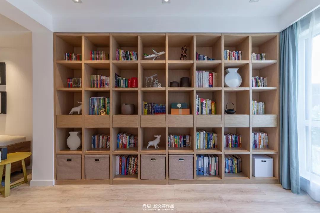朗润园北欧风格书房装修实景图