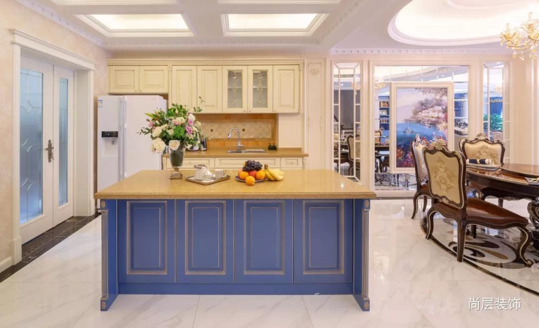 宜和美墅法式混搭风格西厨装修实景图