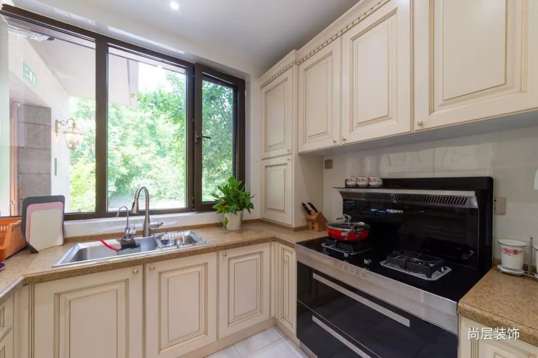 宜和美墅法式混搭风格中厨装修实景图
