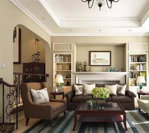 简约美式别墅装修效果图 让你的家更有格调