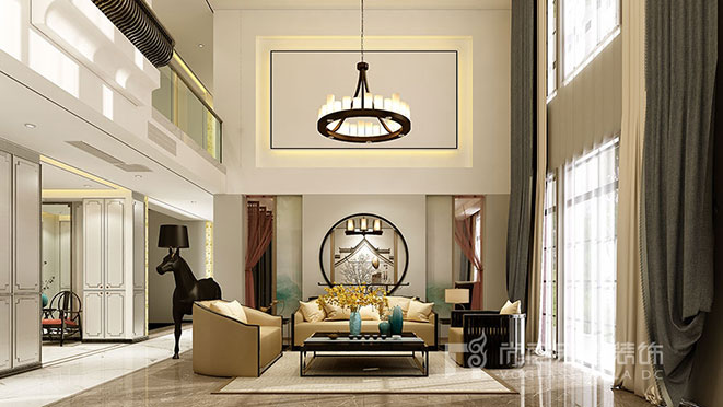 新中式别墅案例图
