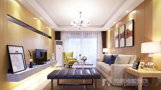 中海105平米样板房装修效果图