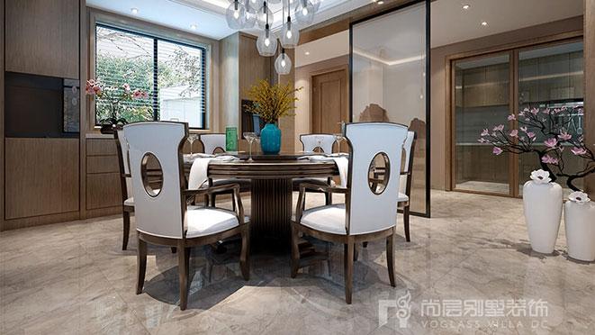 新中式别墅装修案例
